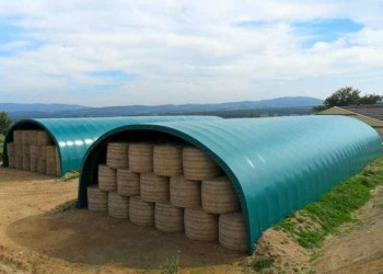 Tunnel stockage agricole