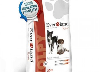 Aliment chien wolpy tonic 20kg - EVERLAND