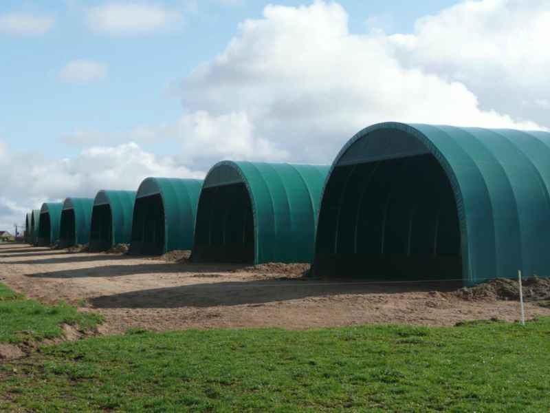 Hangar tunnel d 39 levage ovin hangar d 39 levage bovin prix for Tunnel agricole prix