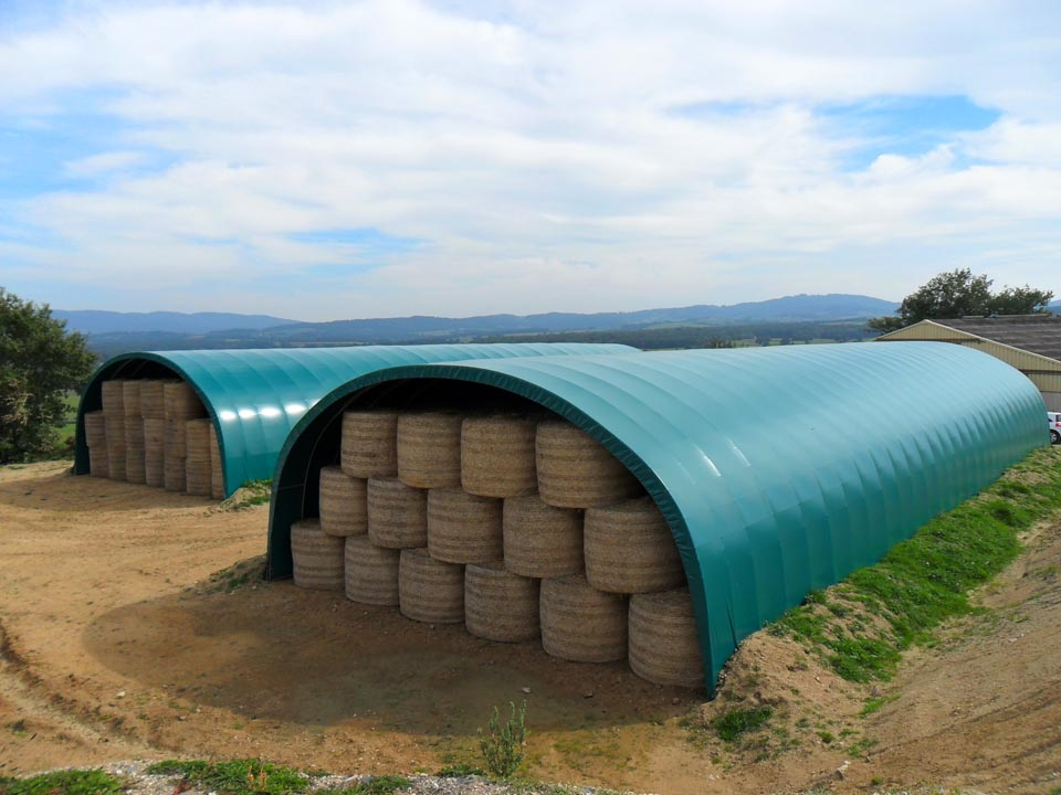 Les tunnels de stockage agricoles mef for Abri tunnel agricole